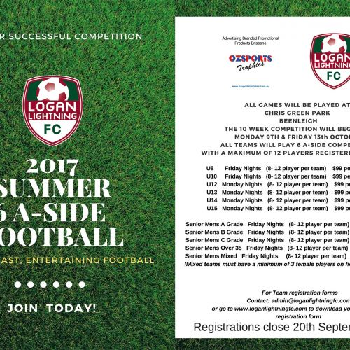 2017 SUMMER 6A-SIDE WITH LOGAN