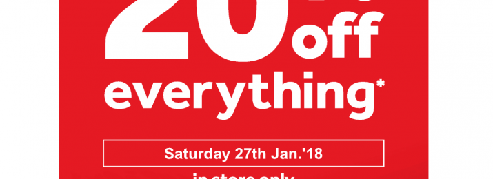 Rebel 1 Day Sale Saturday 27th Jan